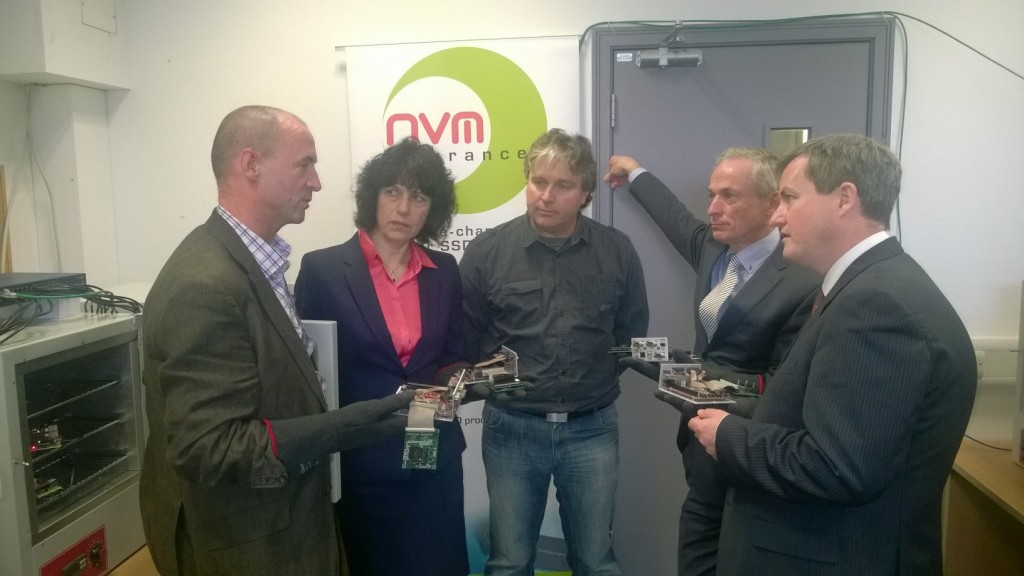 Irish Minister meets NVMdurance